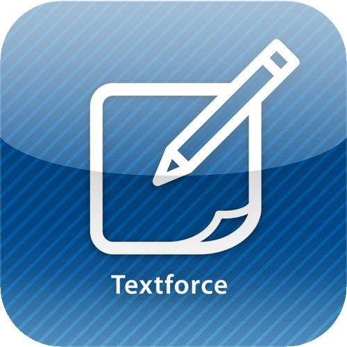 textforceロゴ